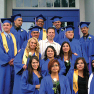 Graduating Class 2009, Students that grew up in the Kids Unlimited Program.